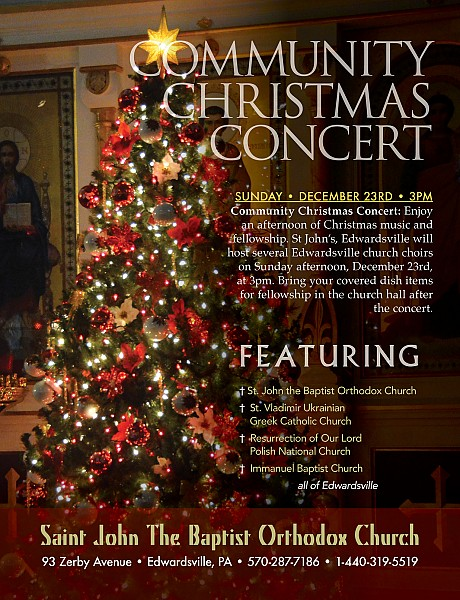 Fellowship Choir Christmas December 23, 2020 Community Christmas Concert • Edwardsville | Diocese of Eastern