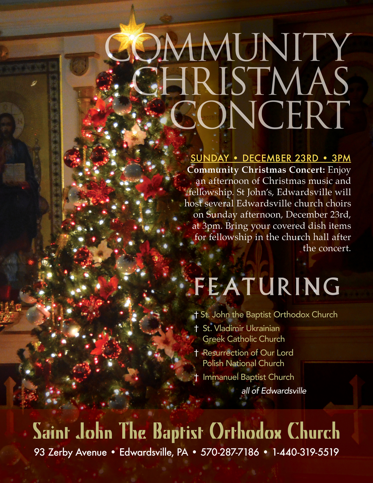 Community Christmas Concert • Edwardsville | Diocese of Eastern